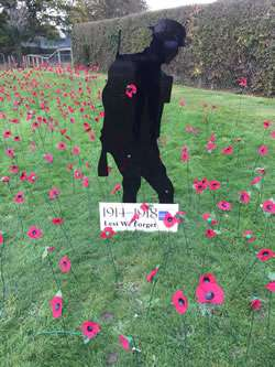 Horley Remembrance Day 2017