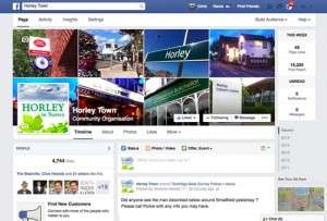 Horley Town Facebook page