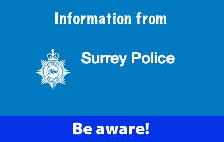 Information from Surrey Police