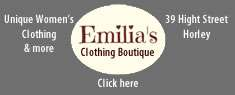 Emilie's Clothing Boutique, Horley, Surrey