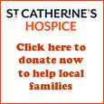 Donate to St Catherine's Hospice, Crawley