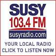 Susy Radio, the local radio station for Horley in Surrey and the surrounding area