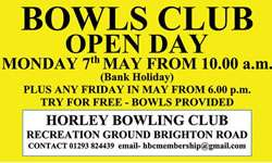 Horley Bowls Club Open Day 2018