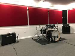 The Hive Rooms rehearsal studios, Horley, Surrey.