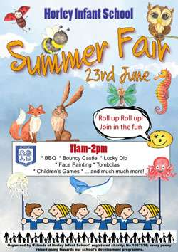 Horley Infants School Summer Fair June 2018