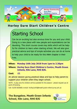 Horley Sure Start Children's Centre