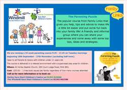 Horley Children's Centre Parenting Puzzle Course Sept 2018