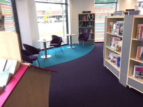 Places to work or relax in Horley Library
