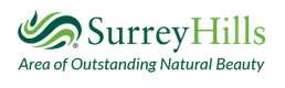 Surrey Hills, an area of outstanding natural beauty