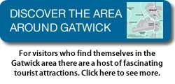 Discover the area around Gatwick and Horley in Surrey