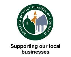 Horley Chamber of Commerce, Surrey, green logo