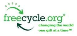 Freecycle logo for the Horley, Crawley, Reigate area.