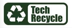 Tech-Recycle logo. Safe, Professional and Ethical IT Recycling