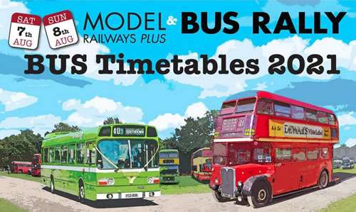 Model Railway and Bus Rally, Hadlow Down, East Sussex, 2021