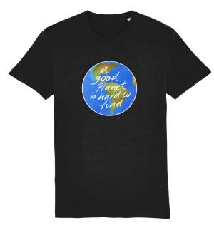 Buy one of these T-shirts and help us raise money for Greenpeace Surrey